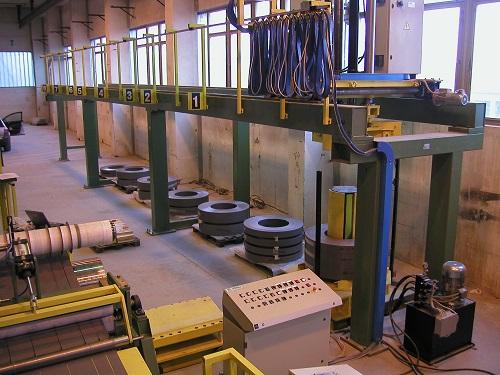 slitter, slitter per lamierino magnetico, lamierino, magnetico, camu, trasformatori